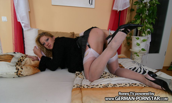 Amateur milf fucked in stockings chop shop 1