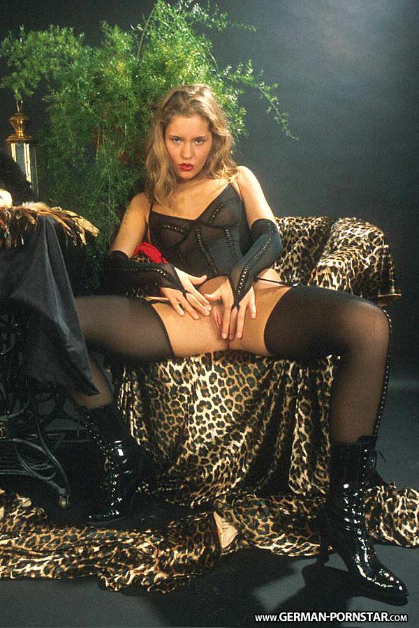 German Pornstar Anja Juliette Laval in Sexy Lingerie
