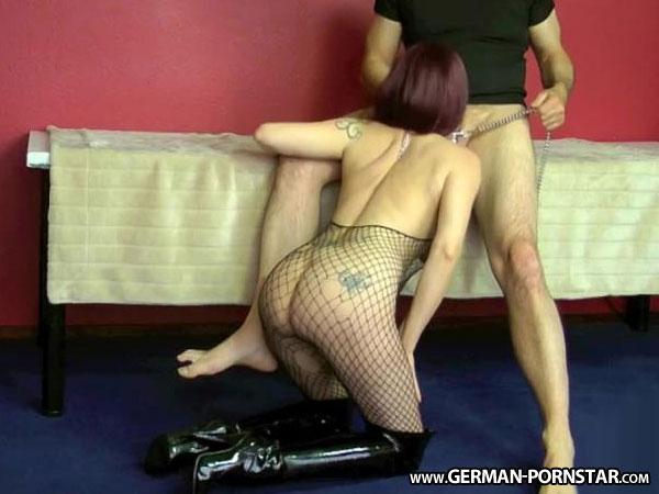 fetish nylon beringung der schamlippen