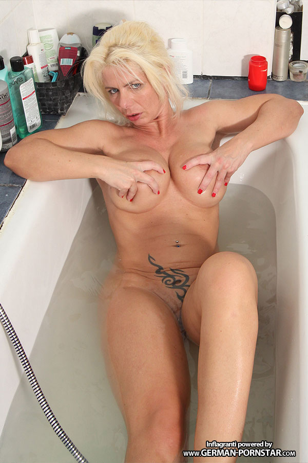 Nadja summer german milf seduces her boy friend