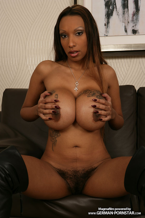 German ebony pornstar