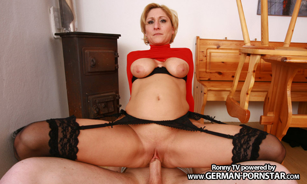German Milf Teresa Lynn Hard Fucked