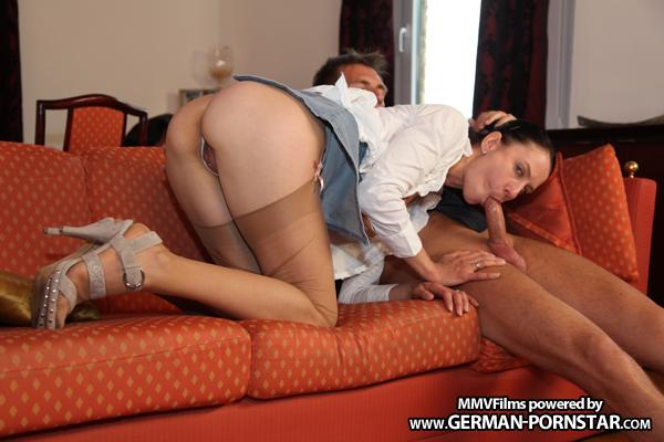 German Milf Valeria Jones Picked up and fucked hard