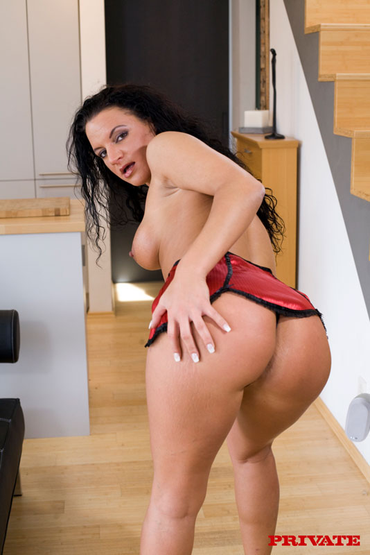 image German amateur fucked in doggystyle in ass and pussy